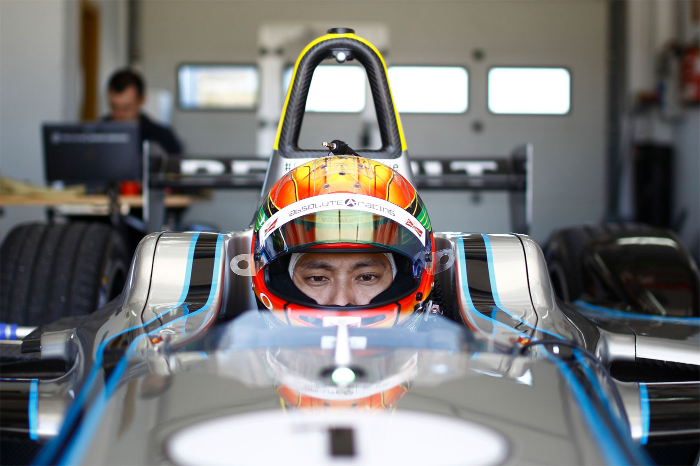 China's Ho-Pin Tung tests Formula E