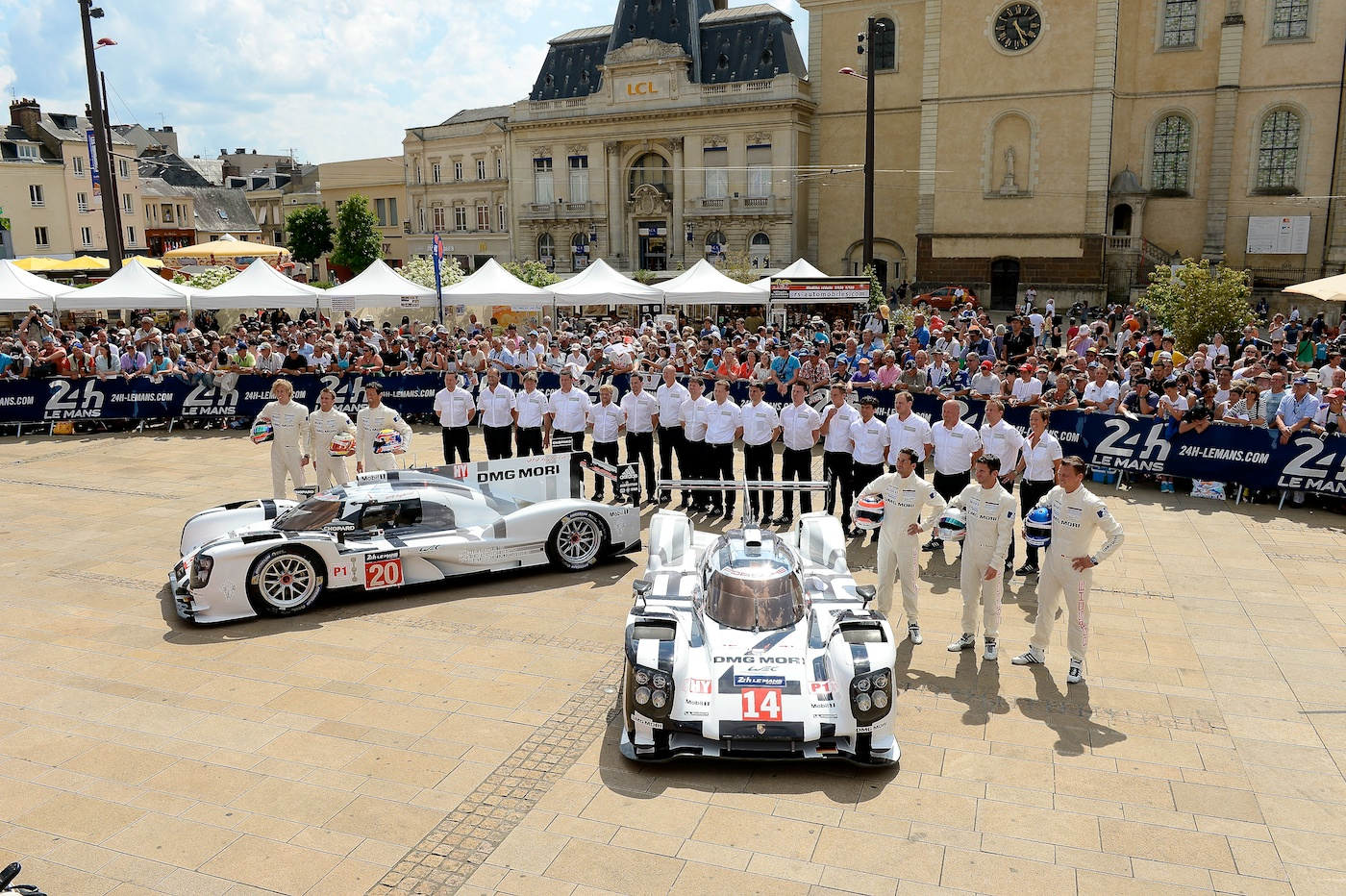 The 'Big Three' at Le Mans in 2014