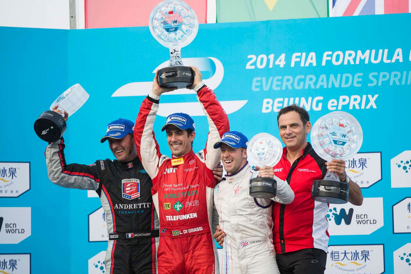 Dramatic crash gives di Grassi Formula E win