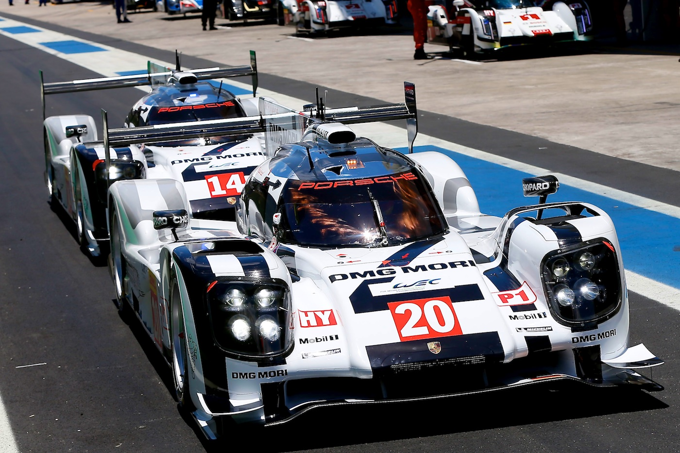 Mark Webber and Porsche set the pace in Brazil