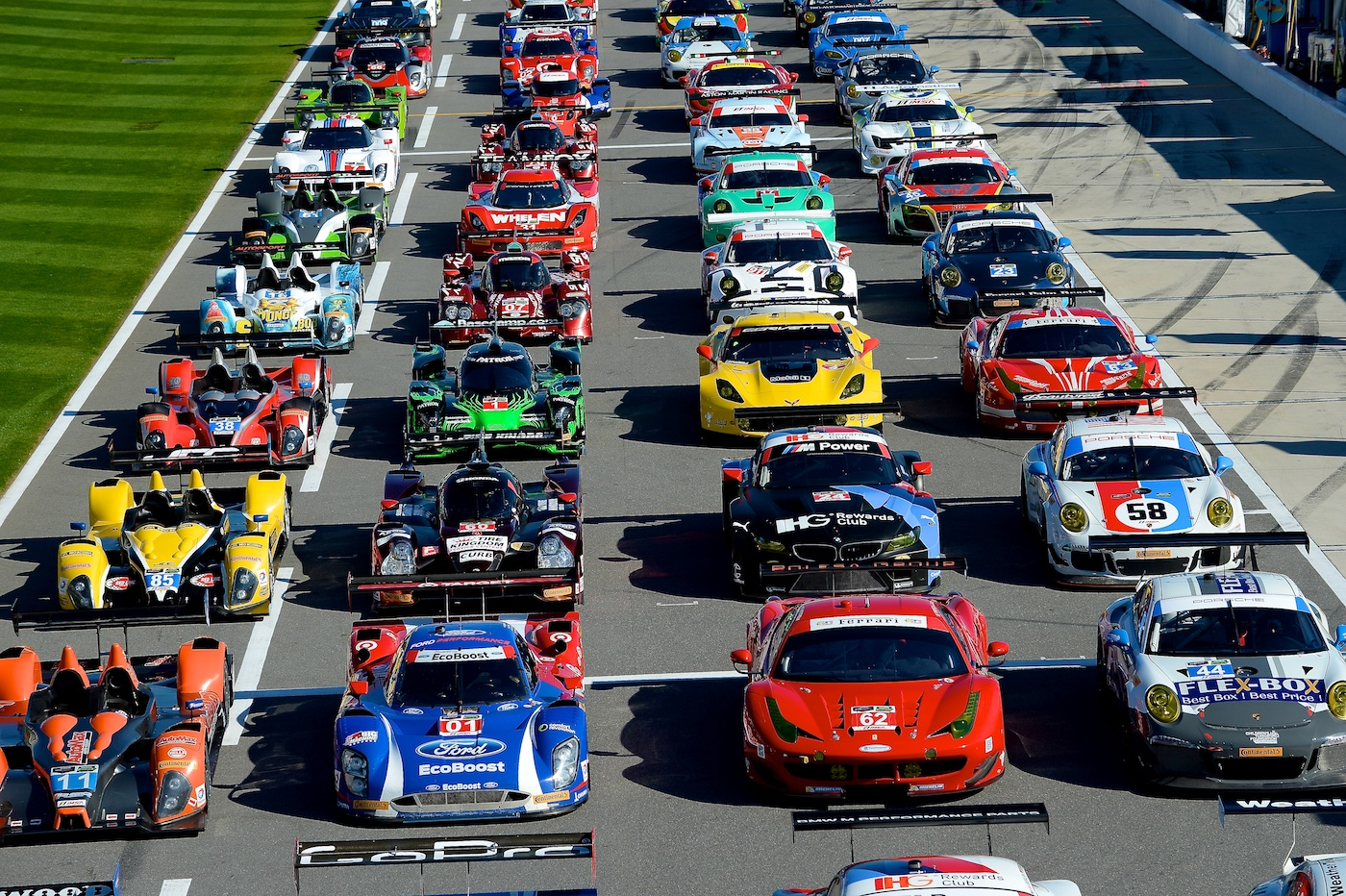 Get ready to go racing at the Rolex 24