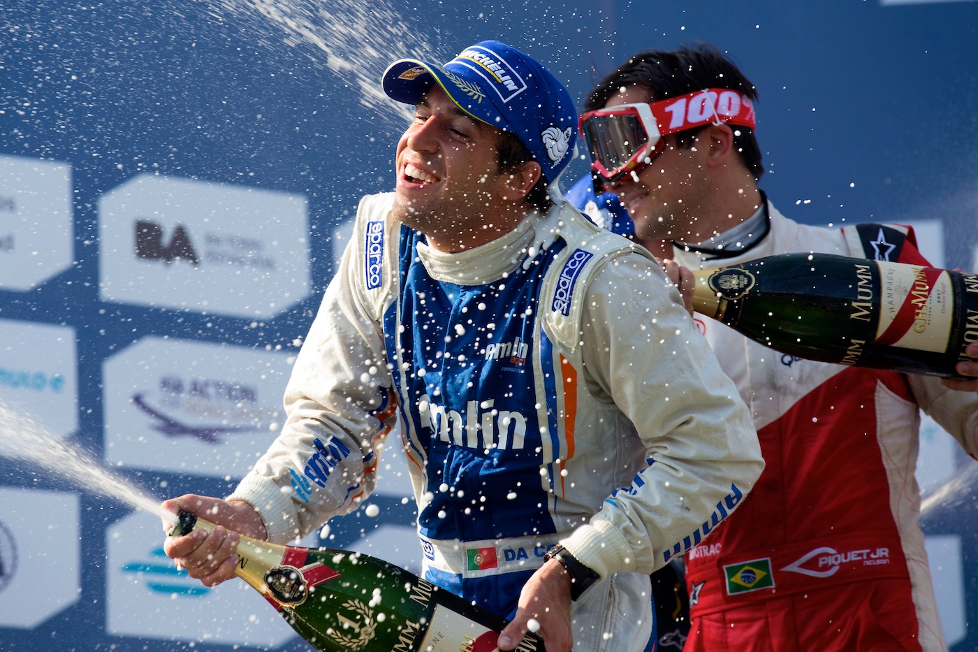 Da Costa takes first Formula E win