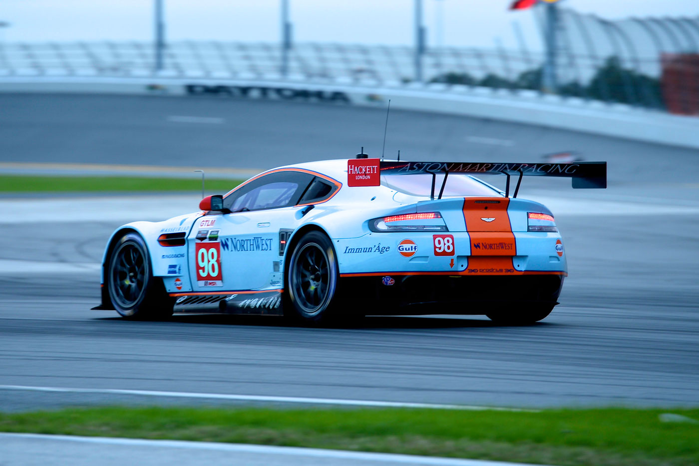 Aston Martin continues strong pace