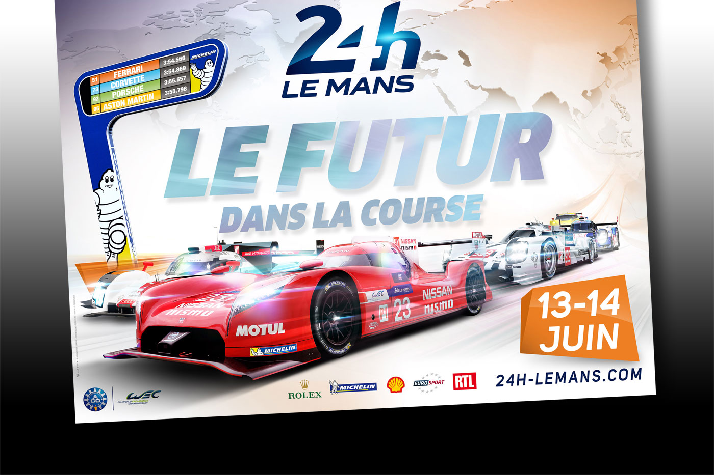 Le Mans poster and entry list revealed