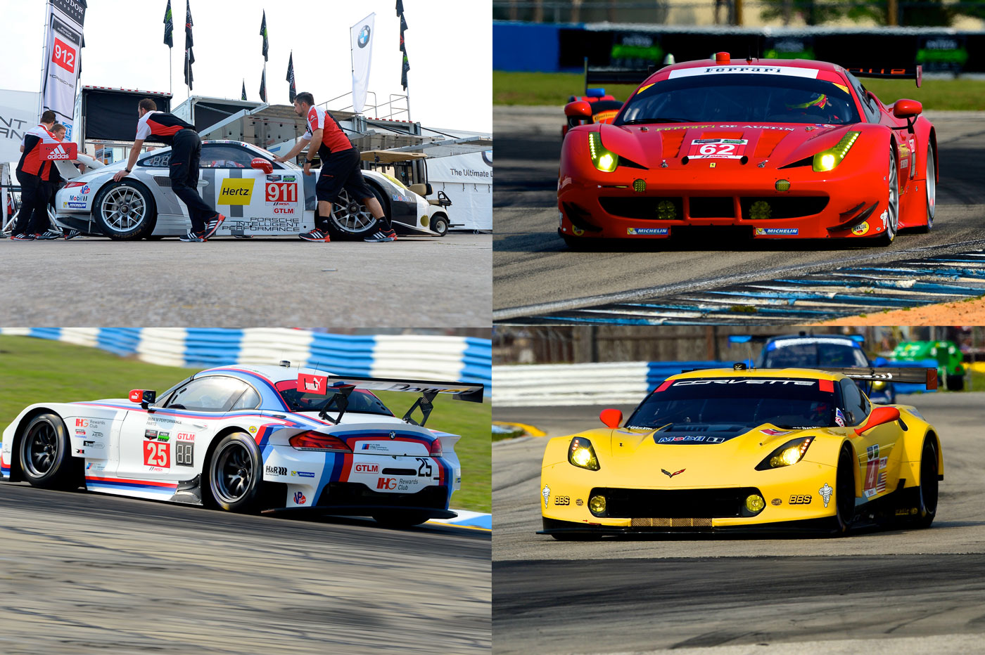 Four brands in top four at Sebring