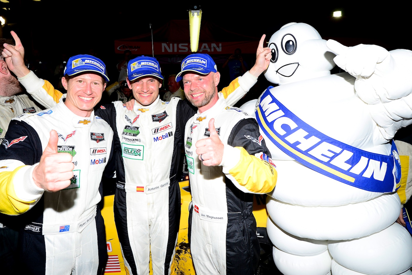 Corvette win the first 36 hours of 2015