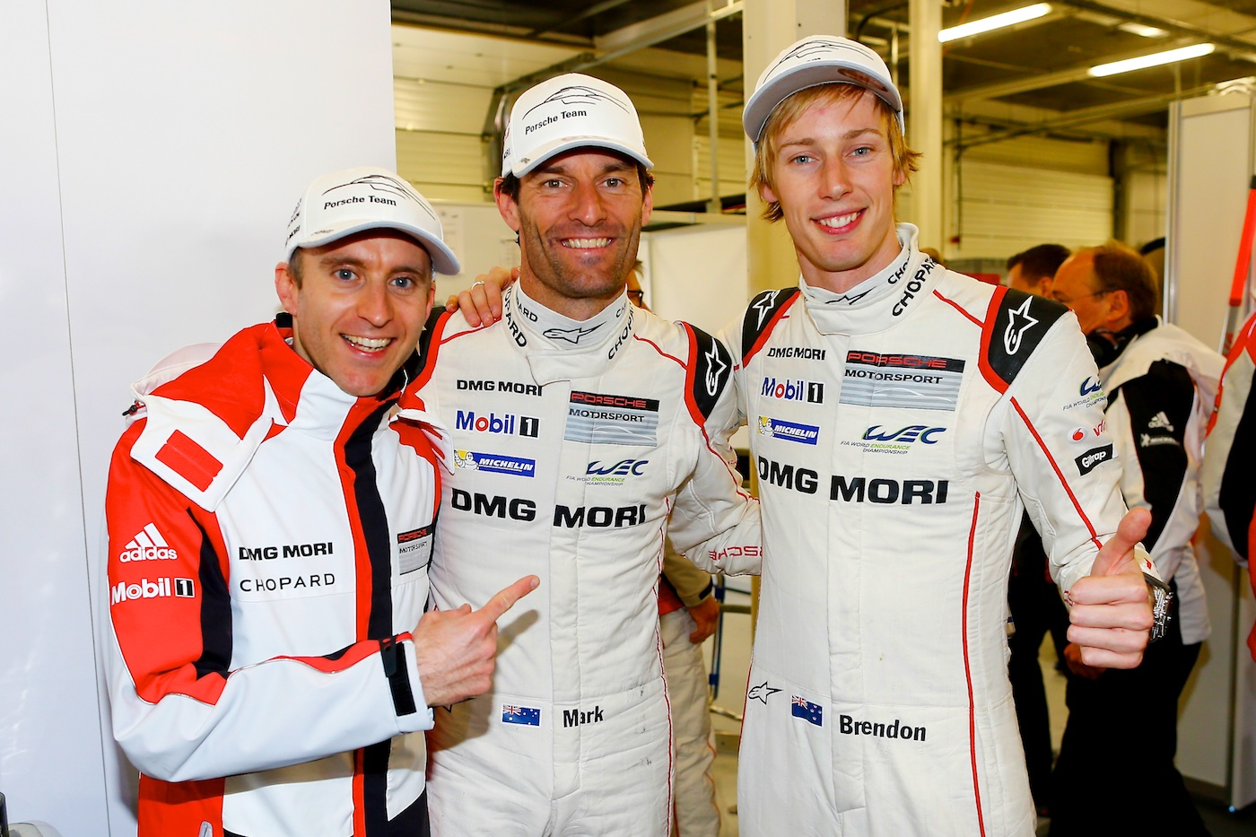Porsche power at Silverstone on pole