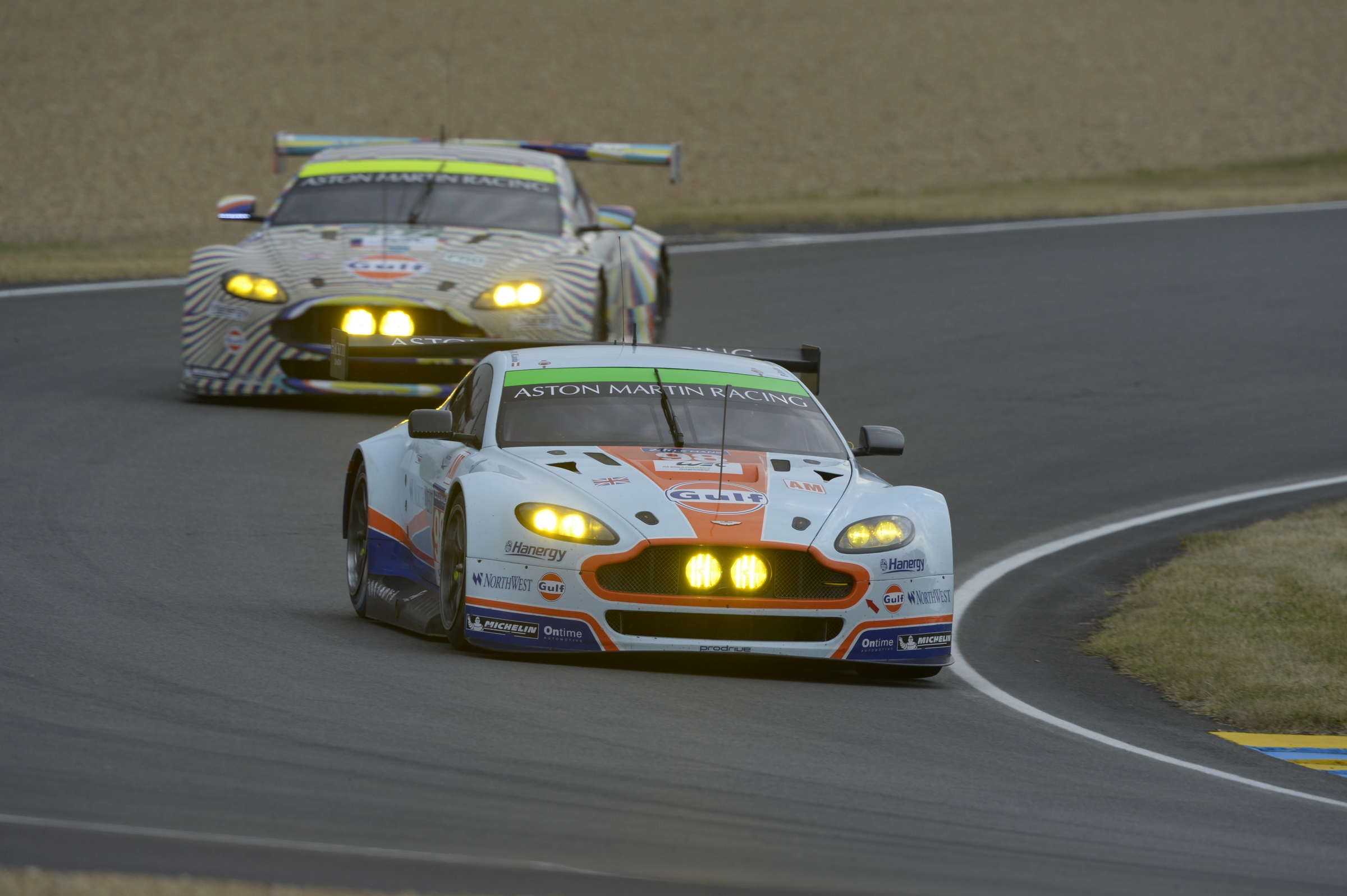 Aston Martin in Charge in GTE Qualifying