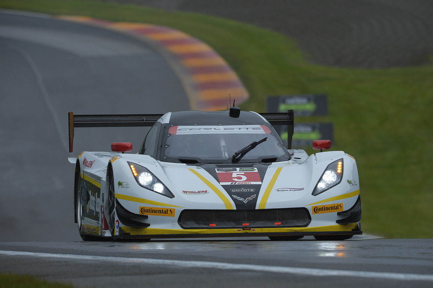 Rain Washes Out Watkins Glen Qualifying