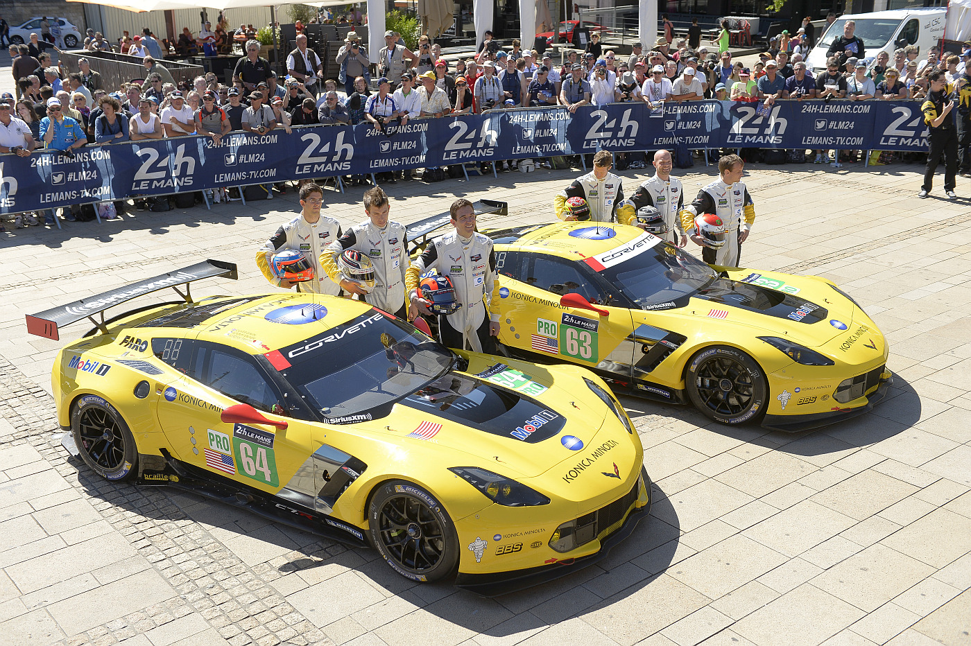 Corvette Racing Runs for the Triple Crown