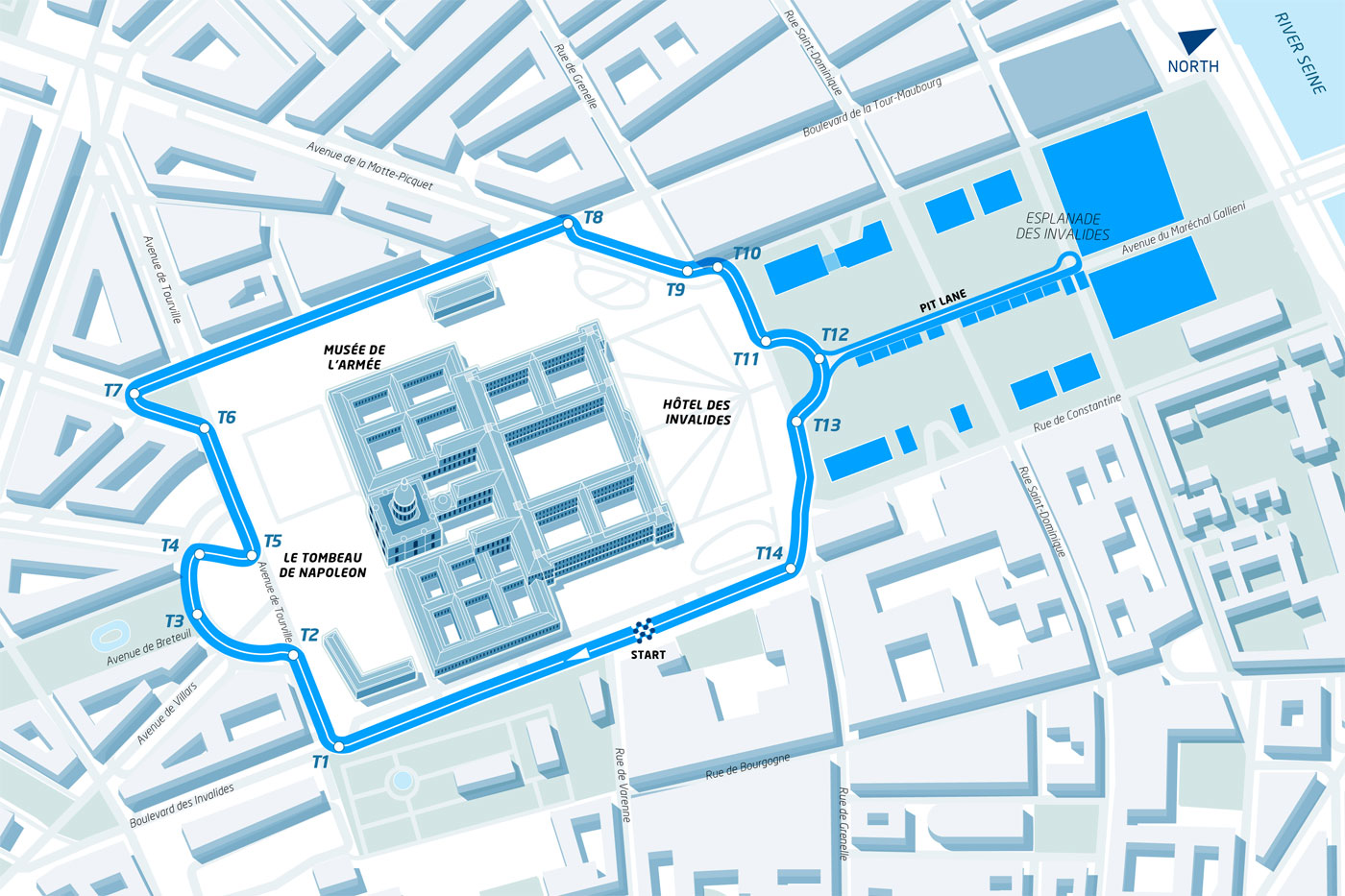FIA Formula E Paris track revealed