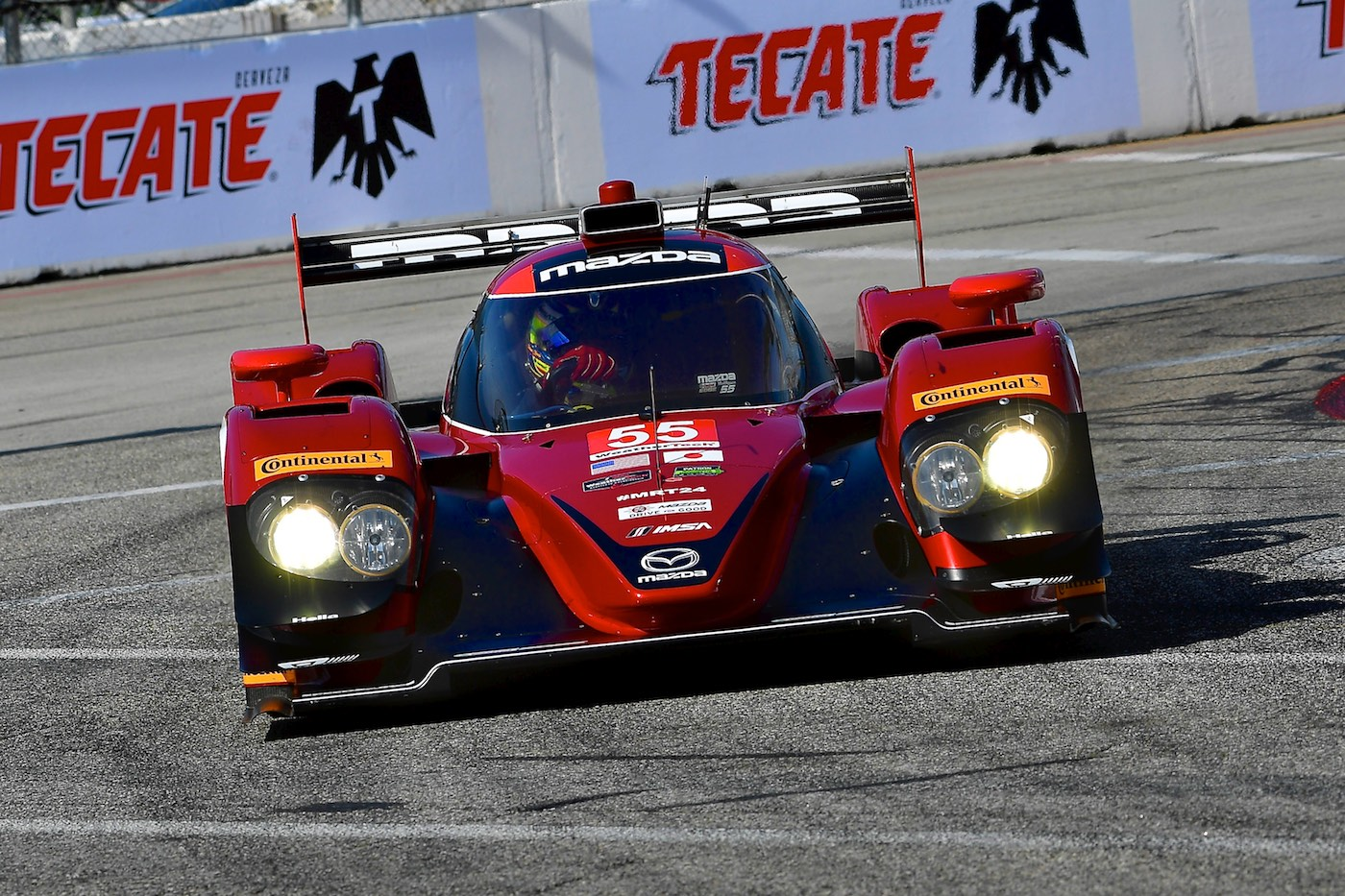 Mazda and Corvette lead Long Beach