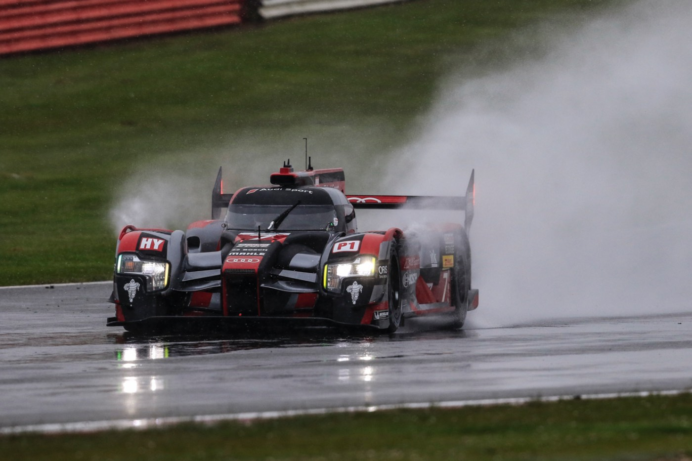 Audi front row at Silverstone