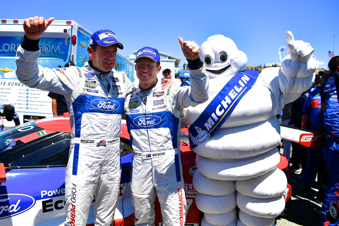 Ford takes first victory with the new GT