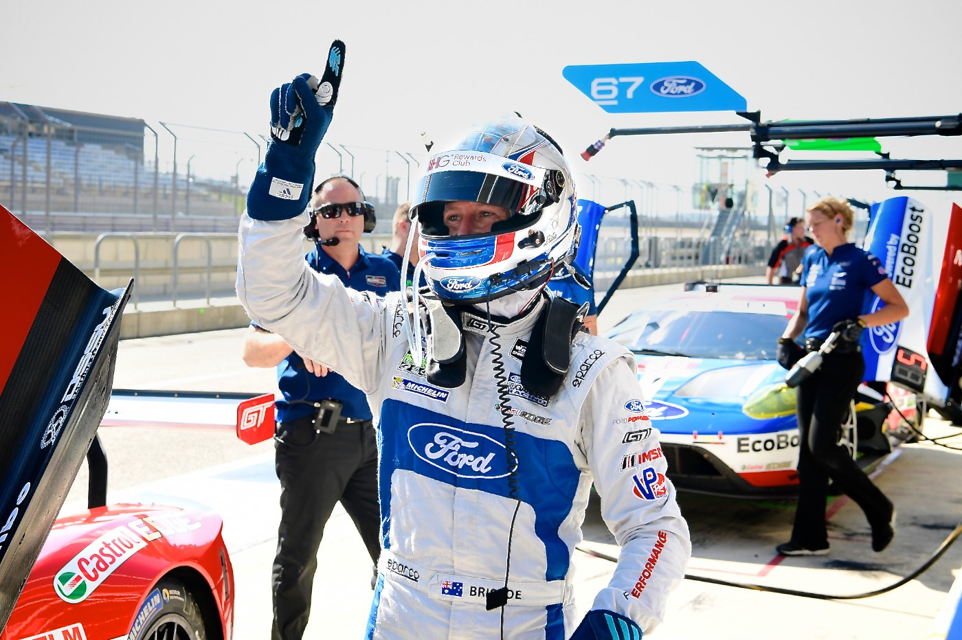 Briscoe puts Ford on pole in Texas
