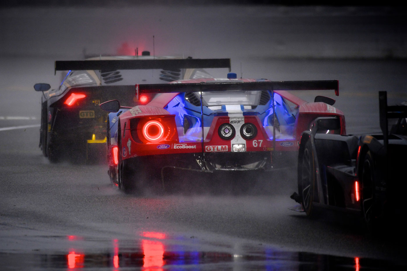 "Michelin ""customer racing"" wet tires deliver at Daytona"