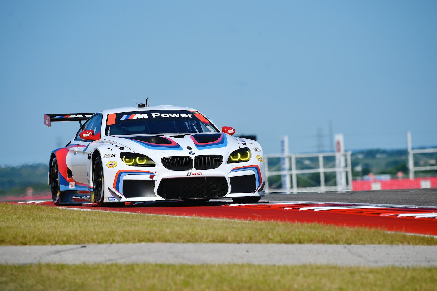 BMW shine in Friday practice at COTA