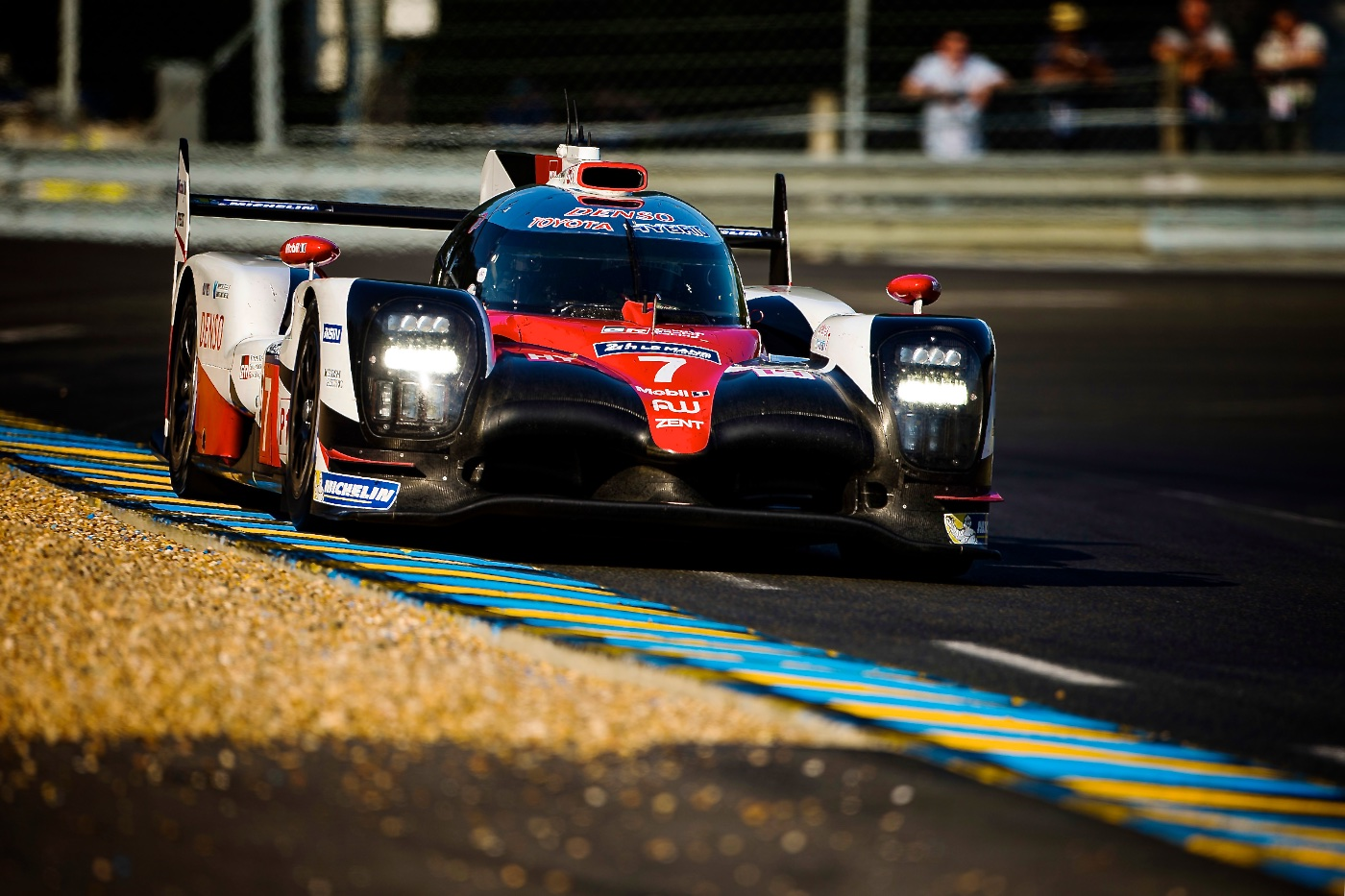 Toyota on Provisional Le Mans Pole