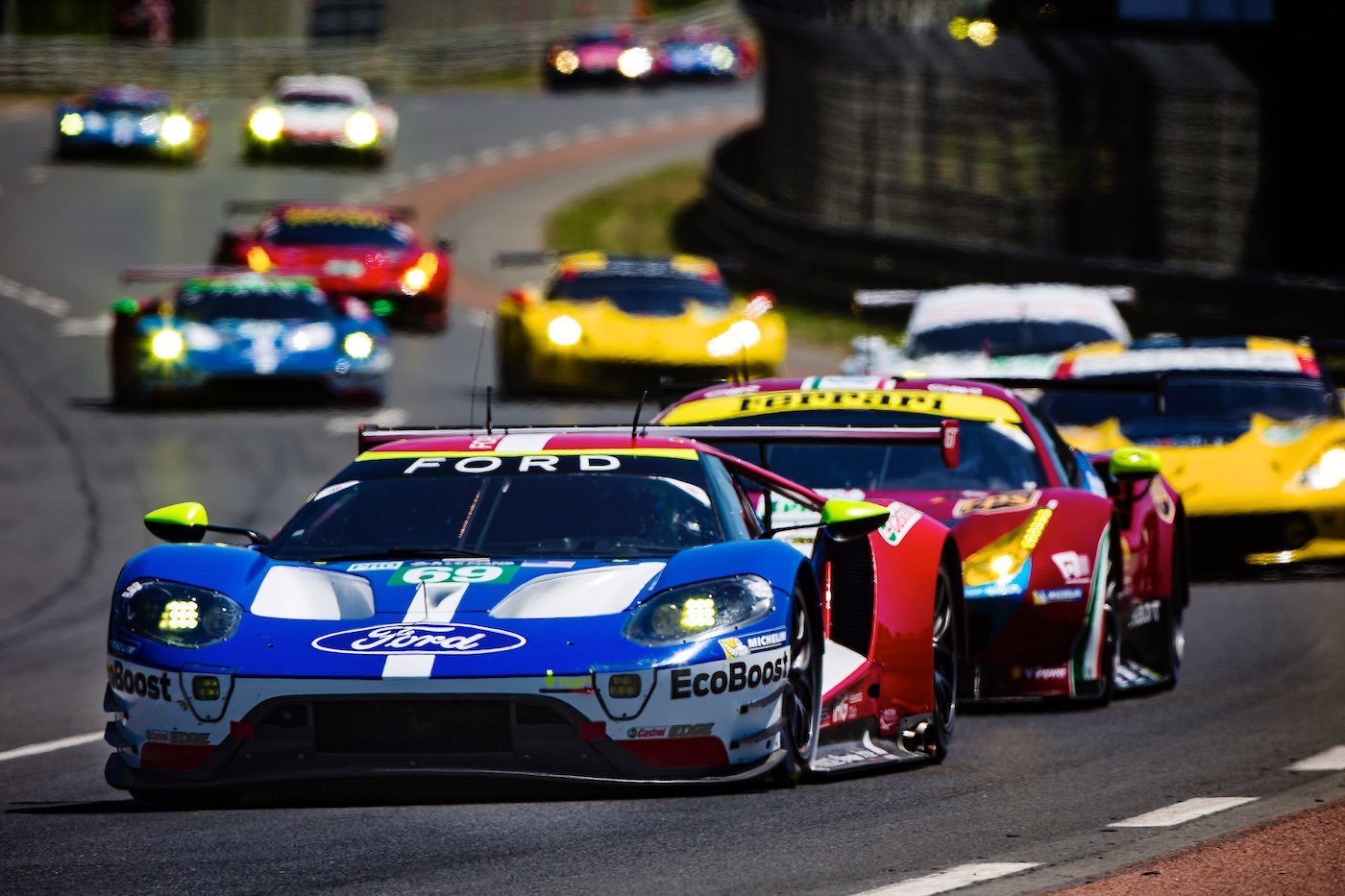 IMSA GTLM teams to tackle Le Mans