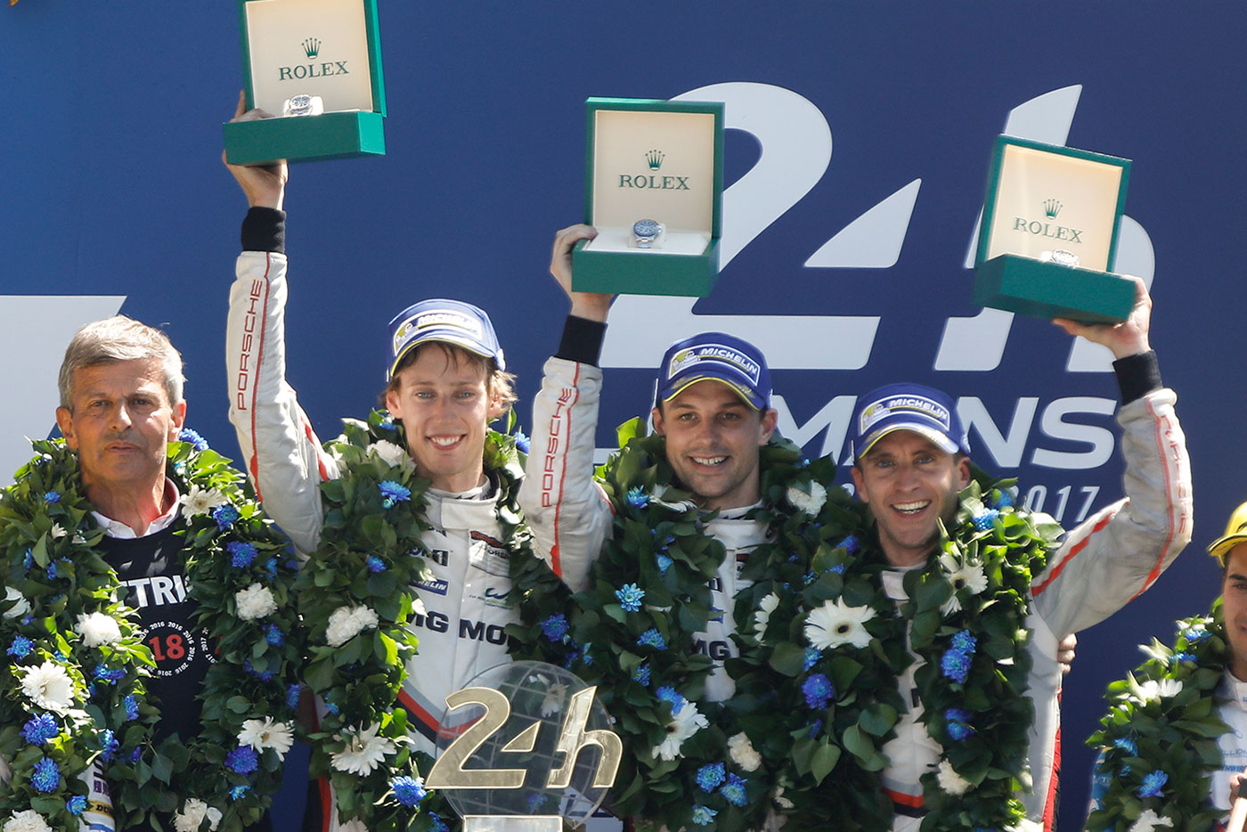 Checkered flag: Porsche wins Le Mans