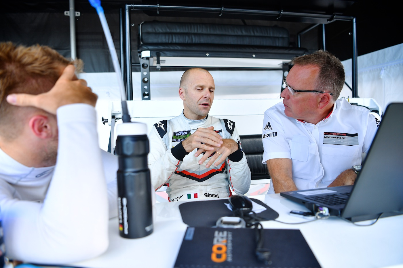 Gianmaria Bruni Joins Porsche