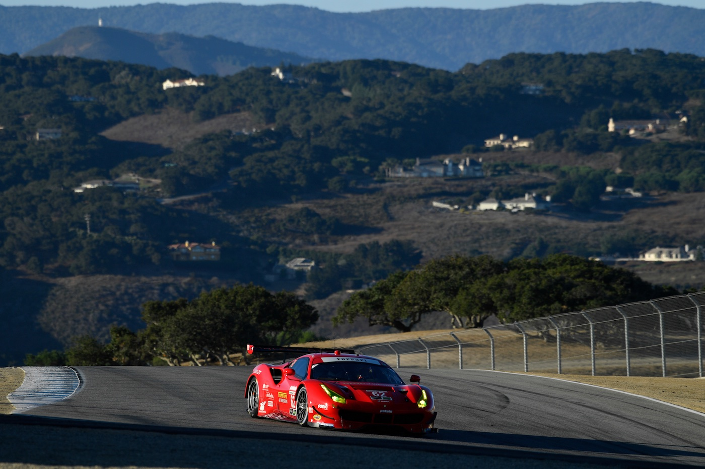 Risi paces morning warm-up