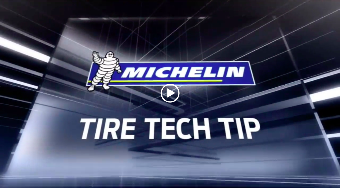 Video: Michelin Tire Tech Tip Laguna Seca