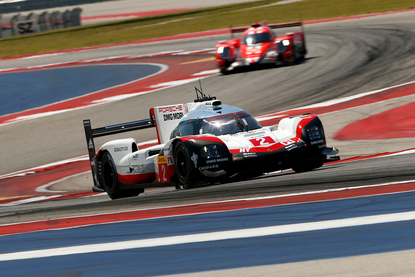 Porsche on top at COTA