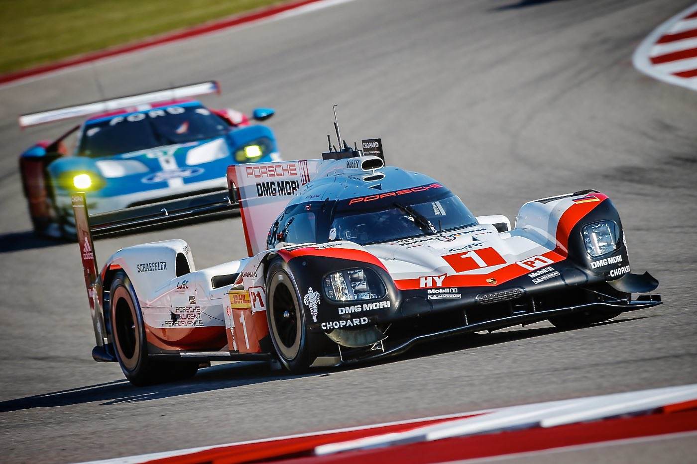 Porsche and Ferrari score poles at COTA