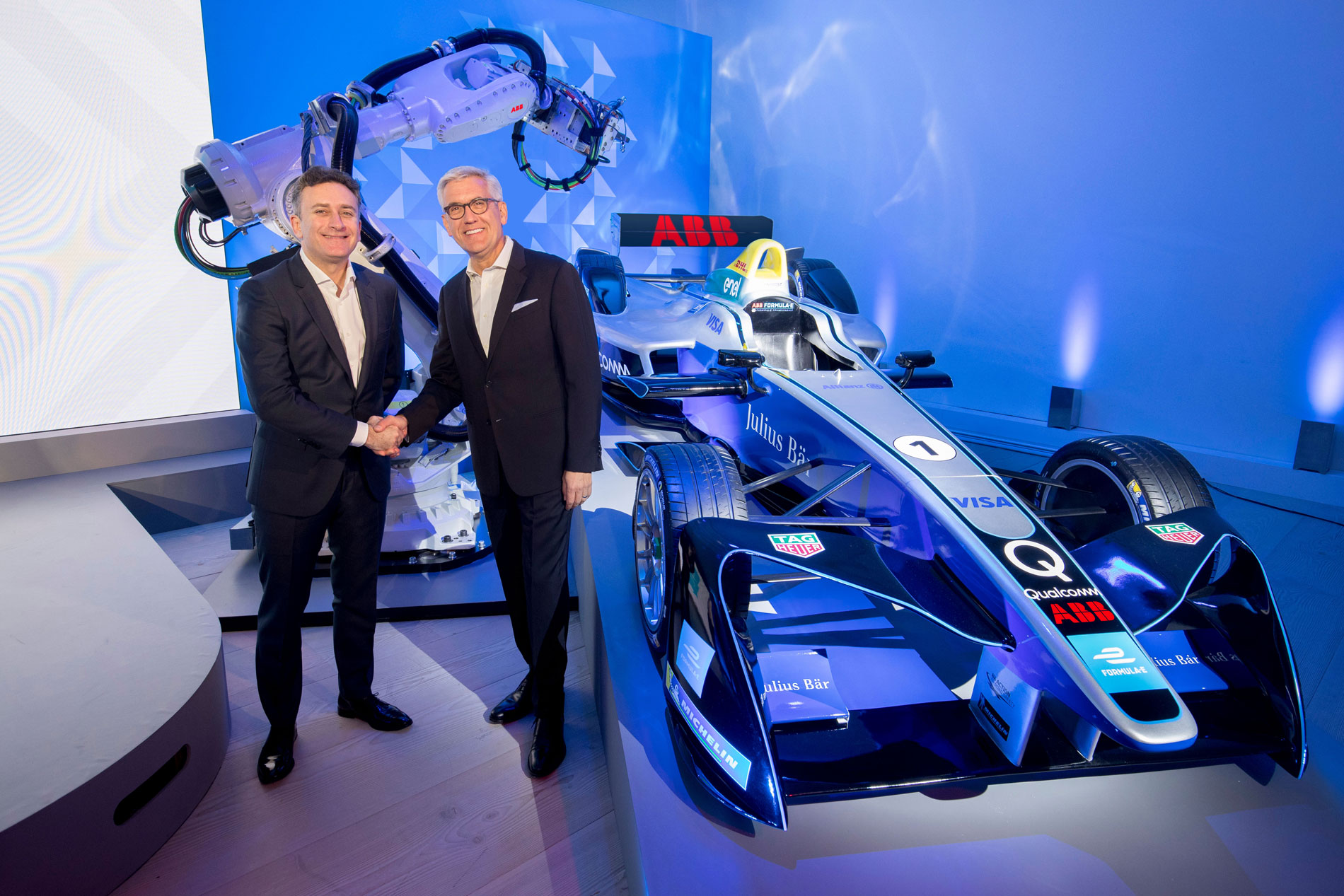Formula E lands ABB as new title sponsor