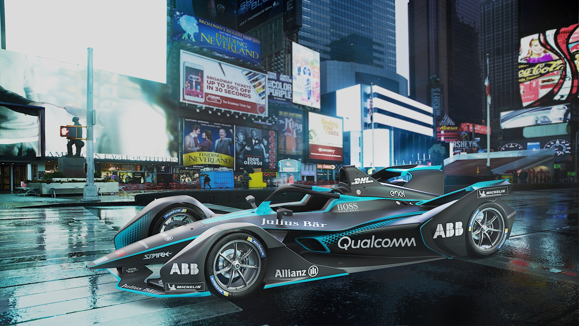 New Formula E Gen2 car launched