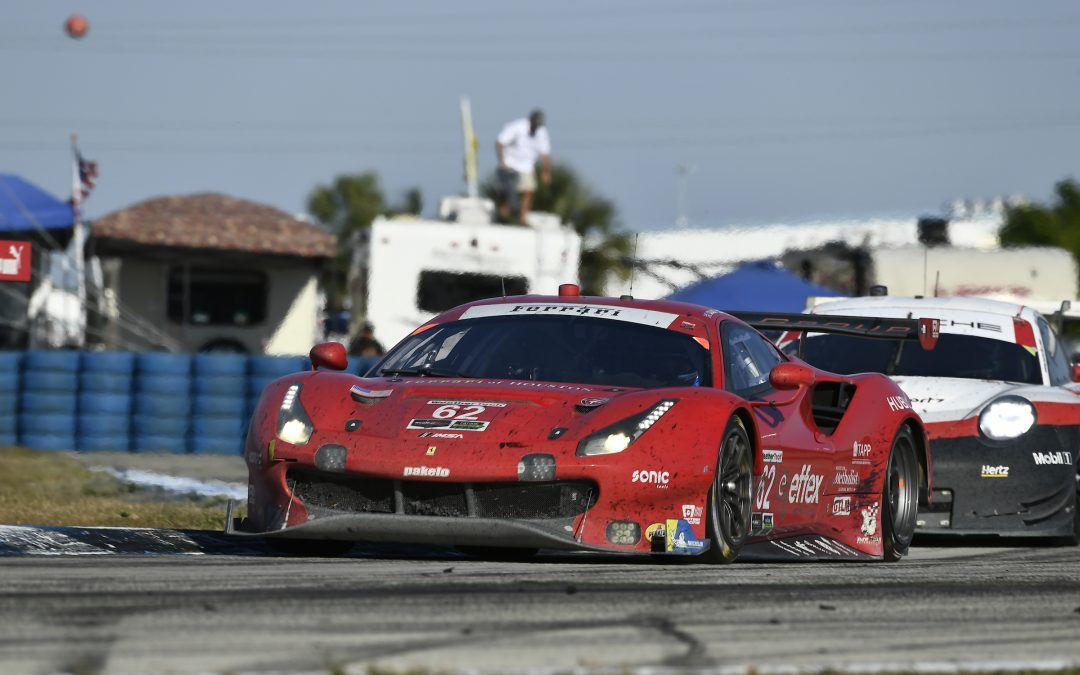 Risi Ferrari soldiers home fifth in tough Sebring 12-hour