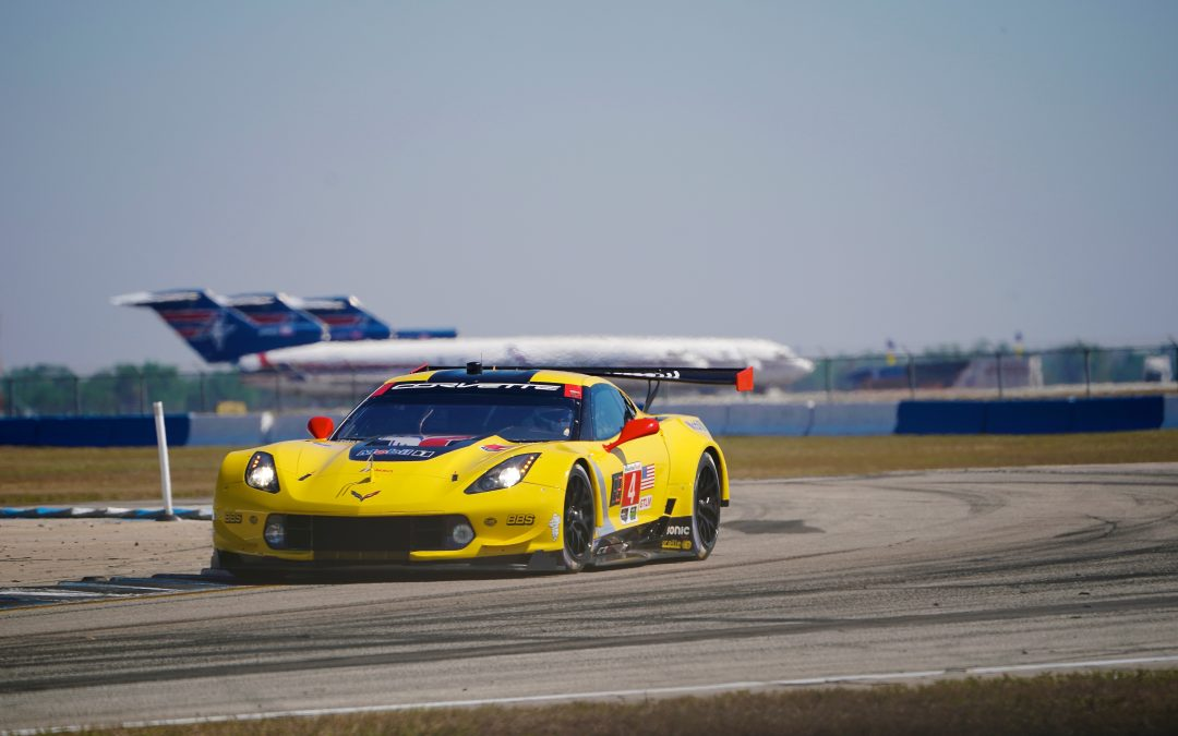Corvette comes up shy of Sebring quartet