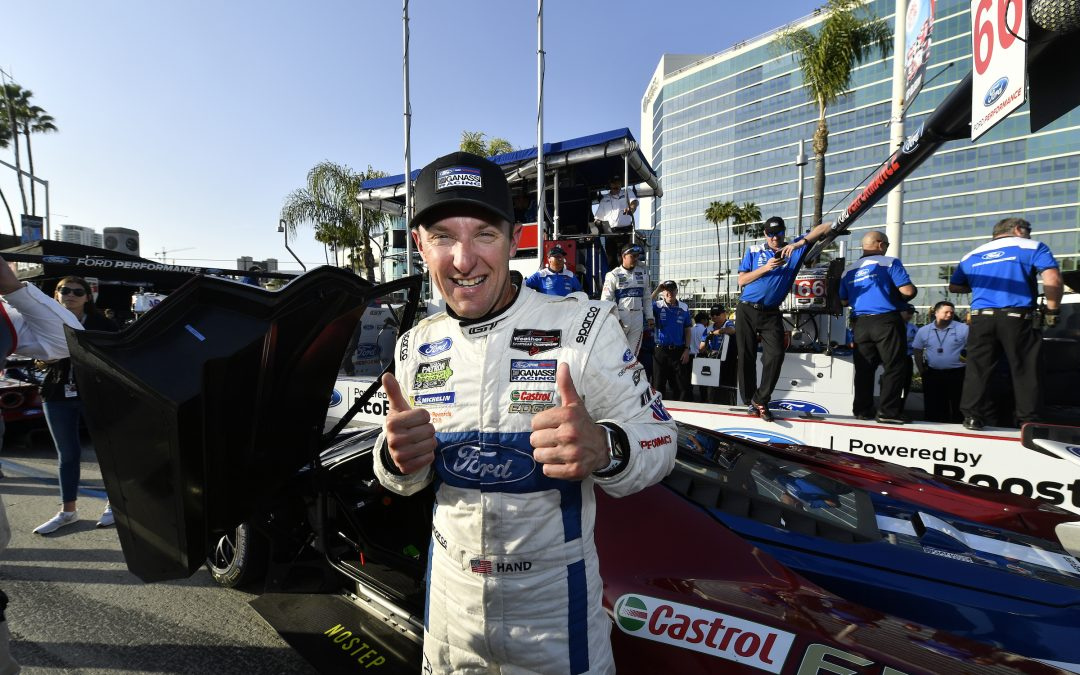 Hand, Ford capture Long Beach pole