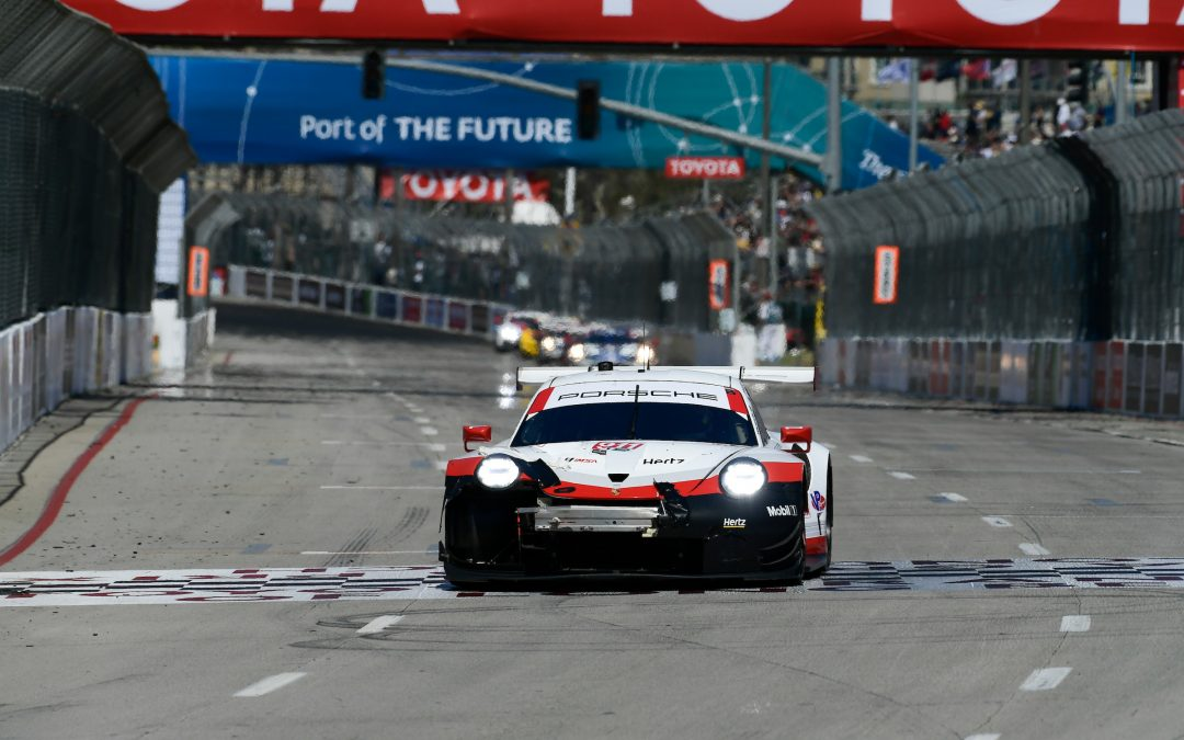 Luck doesn't shine on Porsche in Long Beach