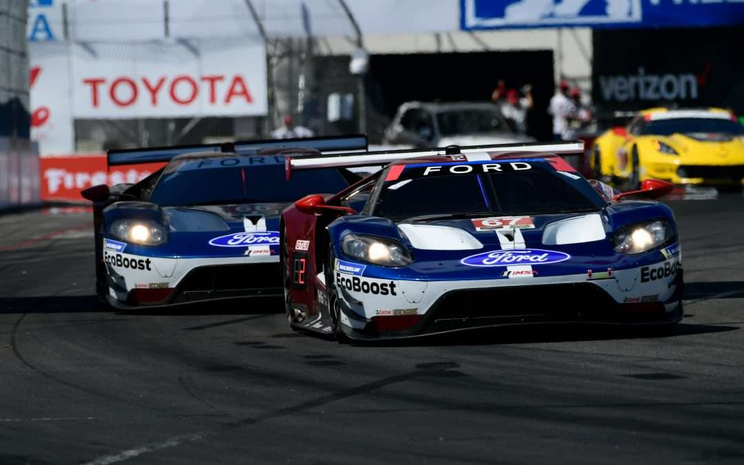 Long Beach double podium boosts Ford's points leads