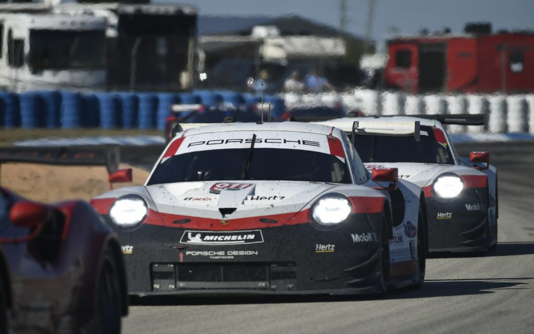 Porsche enters key race in Long Beach with momentum