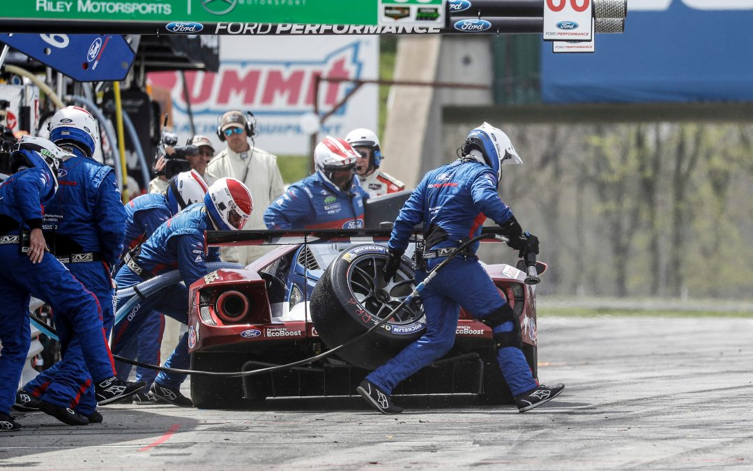 Ford keeps points lead despite tough Mid-Ohio ending