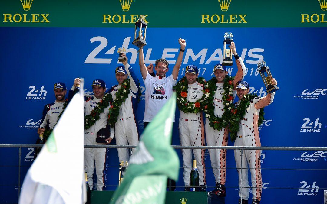 Porsche's dream GT year rolls on at Le Mans