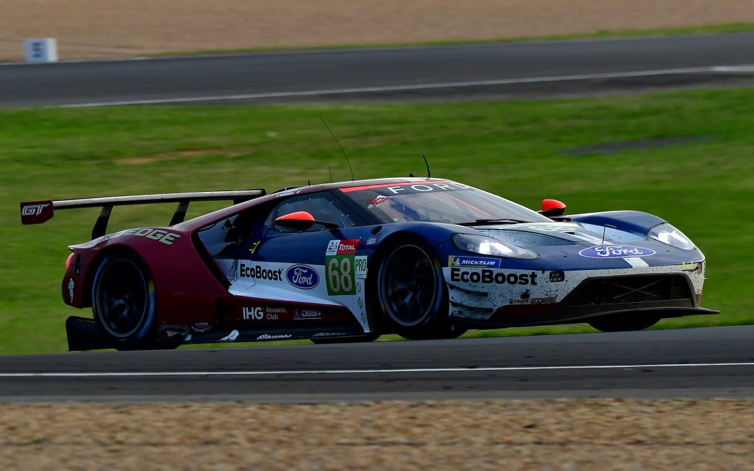 Ford fights for Le Mans podium with its U.S. crew