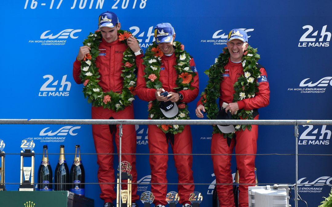 Risi, Keating capture Le Mans podium