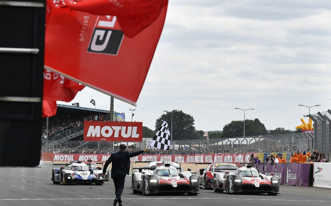 Toyota finally breaks through at Le Mans