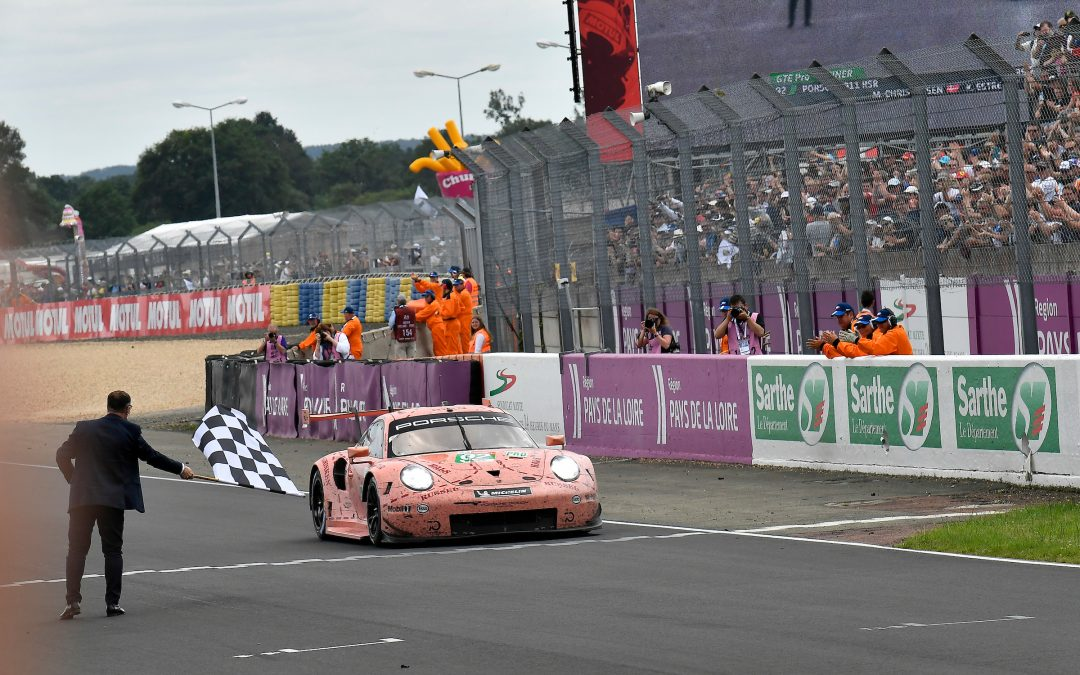 "Porsche's ""Pink Pig"" powers to Le Mans win"