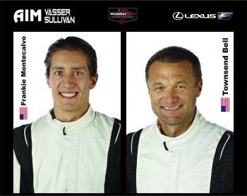 aim vasser sullivan lexus adds bell montecalvo michelin racing usa aim vasser sullivan lexus adds bell