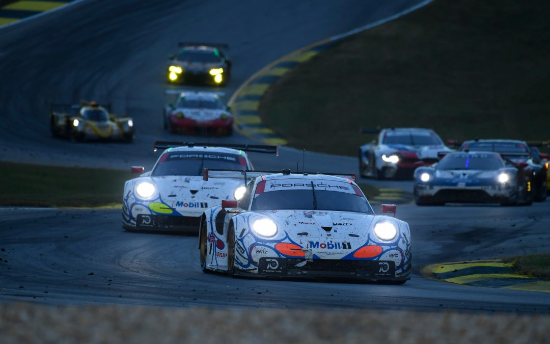 Unchanged Porsche GTLM lineup in 2019