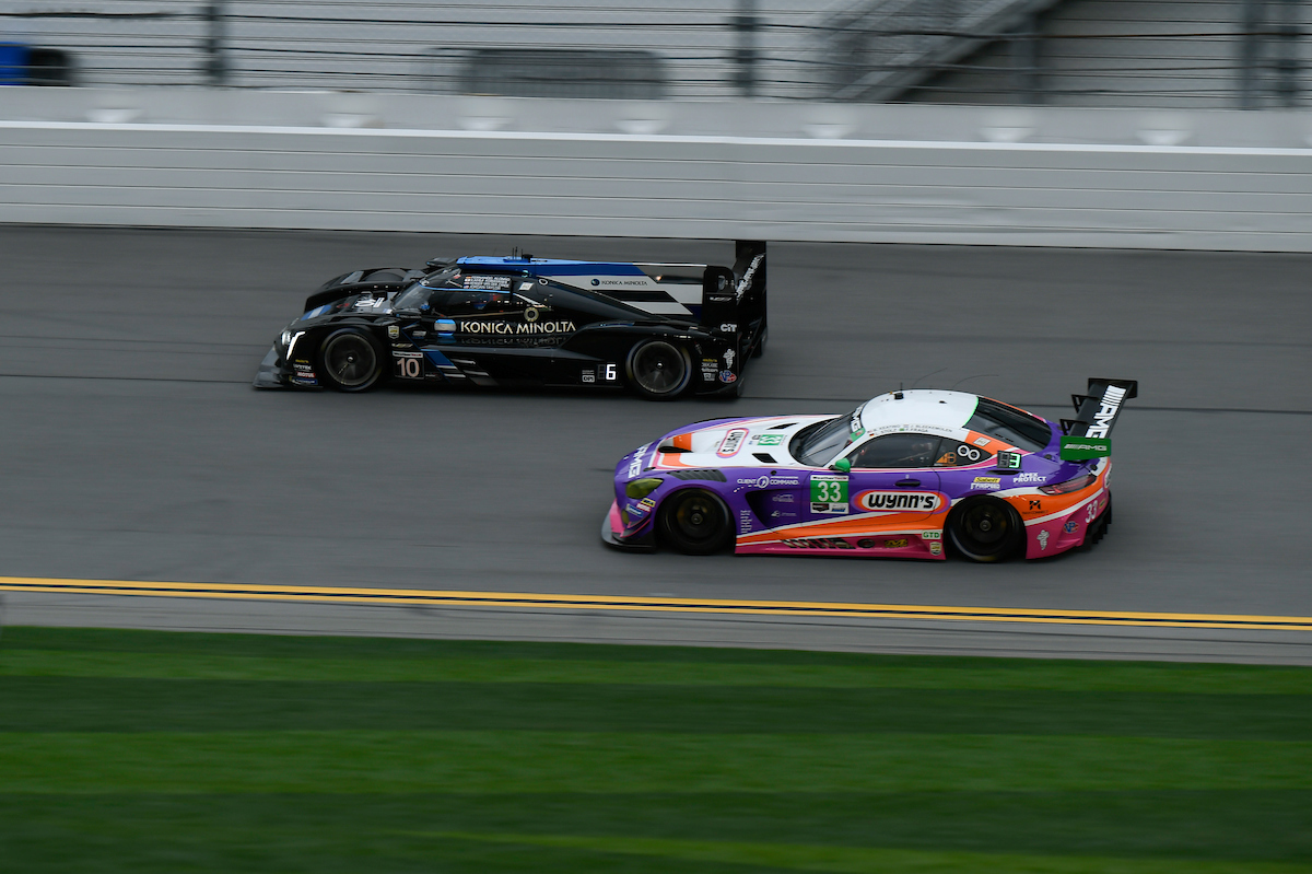 The Riley Team Amg Mercedes In Daytona Photo Michelin North America