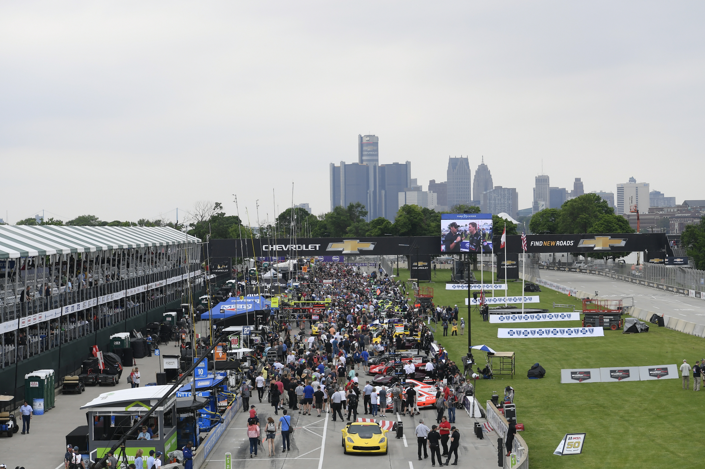 Video: IMSA at Detroit Recap