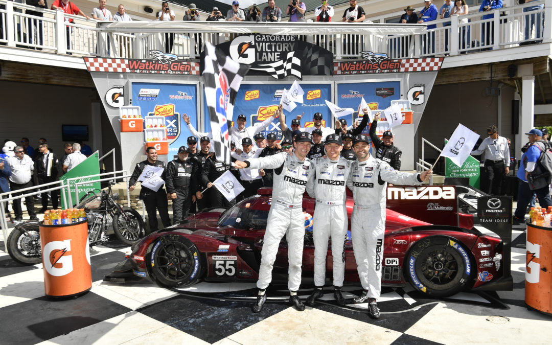 Mazda riding wave of momentum to Road America