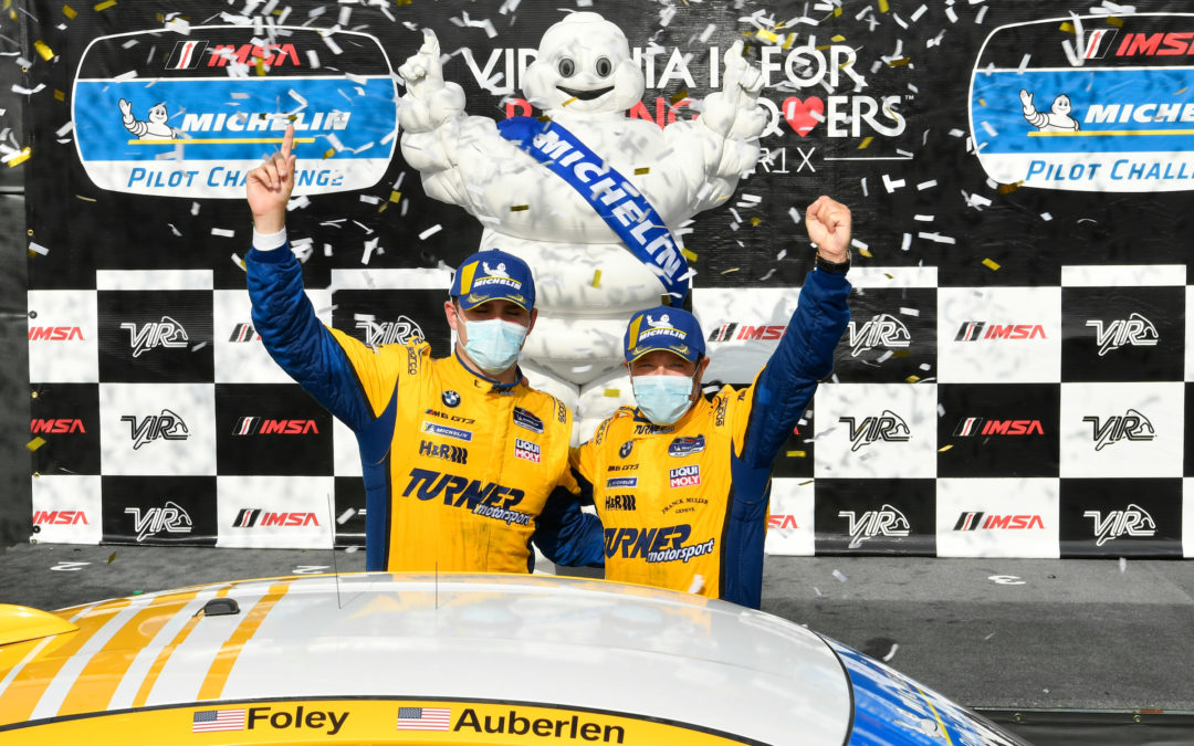 BMW, Auberlen, Foley Double Up with Michelin at VIR
