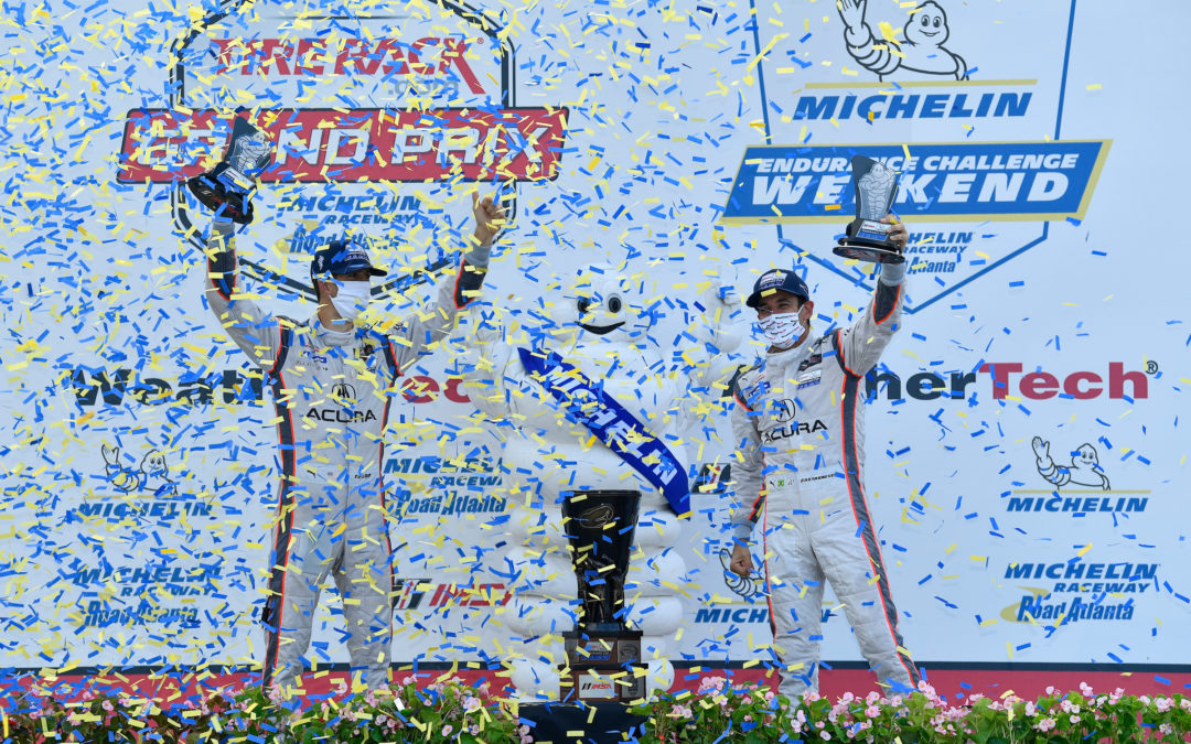 Action-Packed TireRack.com Grand Prix Highlights Michelin's Endurance